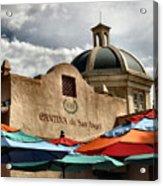 Cantina De San Angel Acrylic Print