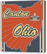 Canton Ohio Acrylic Print