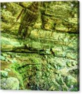Cantwell Cliffs 2 Hocking Hills Acrylic Print