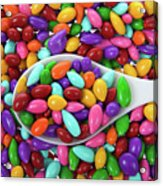 Candy Covered Sunflower Seeds Acrylic Print