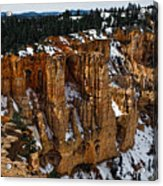Canyon Alcoves Acrylic Print