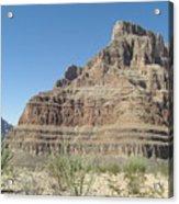 Canyon Base At The Grand Canyon Acrylic Print