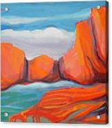 Canyon Dreams 14 Acrylic Print
