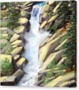 Canyon Falls Acrylic Print