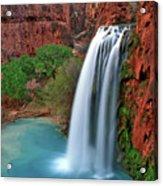 Canyon Falls Vertical Acrylic Print