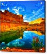Canyon Glories Acrylic Print