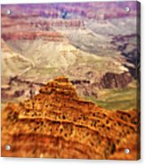 Canyon Peak Acrylic Print