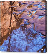 Canyon Reflections Acrylic Print
