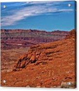 Canyon Rim Acrylic Print