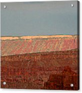 Canyon Rims Acrylic Print