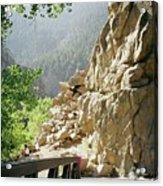 Canyon Rocks Horizontal Acrylic Print
