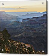 Canyon Sundown Acrylic Print