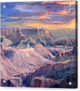 Canyon Twilight Acrylic Print