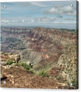 Canyon View From Navajo Point Acrylic Print