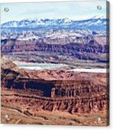 Canyonland Panorama Acrylic Print