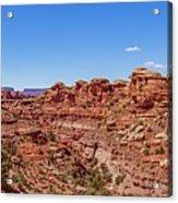 Canyonlands National Park - Big Spring Canyon Overlook Acrylic Print