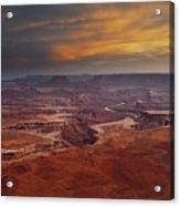 Canyonlands Overlook Utah Acrylic Print