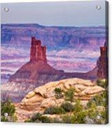 Canyonlands Utah Views Acrylic Print