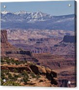 Canyons Of Dead Horse State Park Acrylic Print