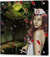 Caotic Nurse Acrylic Print
