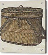 Cap Basket Acrylic Print
