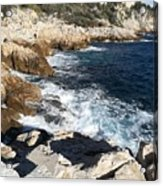 Cap De Nice Acrylic Print