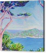 Cap Ferat Provence Acrylic Print