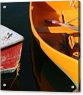 Cape Ann Boats Acrylic Print