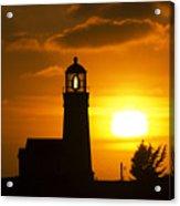 Cape Blanco Lighthouse Sunset 2 Acrylic Print