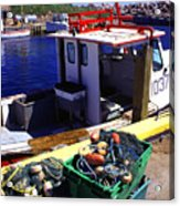 Cape Breton Island Acrylic Print by Thomas R Fletcher