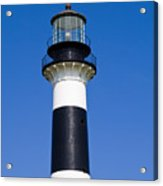 Cape Canaveral Lighthouse On The East Coast Of Florida Acrylic Print