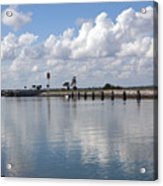 Cape Canaveral Locks In Florida Acrylic Print