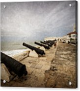 Cape Coast Castle Acrylic Print
