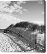 Cape Cod Beach Entry Acrylic Print