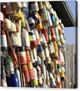 Cape Cod Buoys Acrylic Print