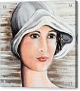 Cape Cod Girl Acrylic Print