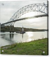 Cape Cod Sagamore Bridge Series #3 Acrylic Print