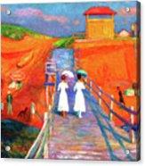 Cape Code Pier Acrylic Print