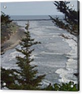 Cape Disappointment Beach Acrylic Print
