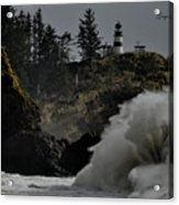 Cape Disappointment Finale Acrylic Print