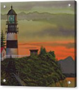 Cape Disappointment Acrylic Print by James Lyman