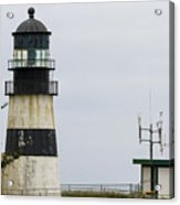 Cape Disappointment Lighthouse Closeup Acrylic Print