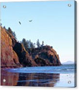 Cape Disappointment Lighthouse Acrylic Print