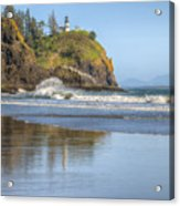 Cape Disappointment - Vertical Acrylic Print