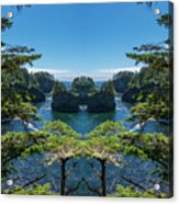 Cape Flattery Reflection Acrylic Print