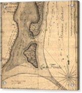 Cape Florida 1765 Acrylic Print