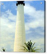 Cape Florida Lighthouse Acrylic Print