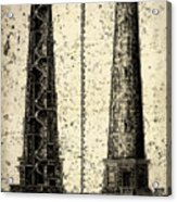 Cape Hatteras Art Acrylic Print