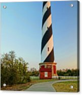 Cape Hatteras Lighthouse In Morning  Acrylic Print