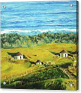 Cape Huts Acrylic Print